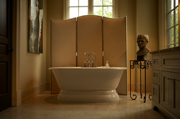 style interior bathroom